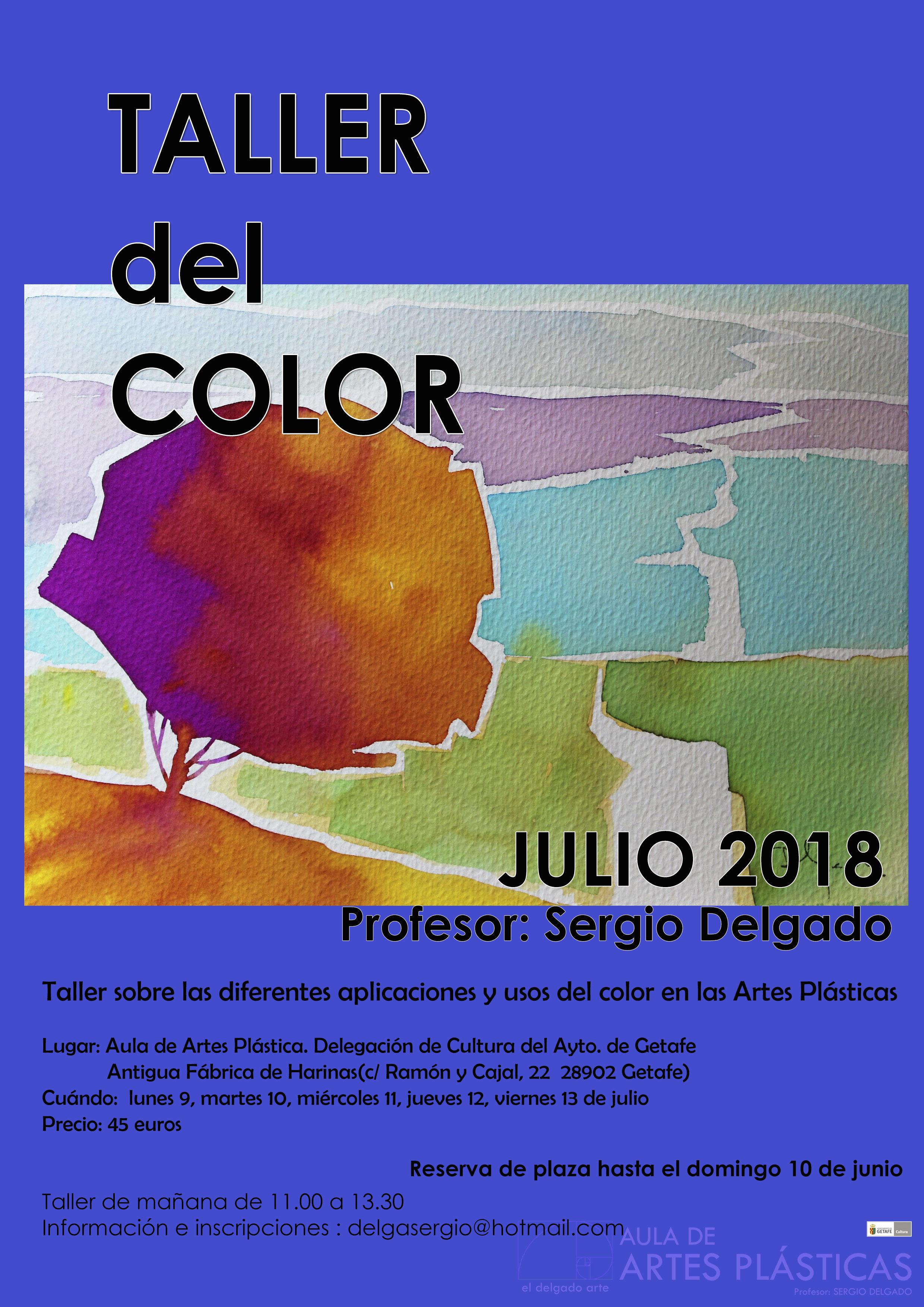 TALLERES MONOGRÁFICOS AULA DE ARTES PLÁSTICAS Julio 2018